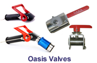 The trueness of the OASIS valve under working conditions enables the valve to seal correctly every on-off cycle.
