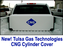 TGT CNG Tank Cover